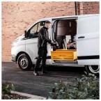 Van Vault Stacker XL Tested Security Drawer Locking Van Box - in use
