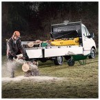 Van Vault Tipper Tested Truck Security Storage Chest - in use