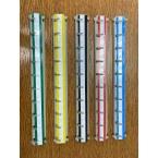 Replacement Keysecure Key Hook Bar - 30cm x 10 hooks - colour range