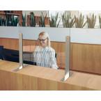 Vialux 150HGP Securit® Safety Glass Screen Divider 680mm