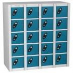 Probe MINIBOX 20 Door Key Locking Stacking Locker blue