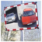 S-Compact 3 Convex Traffic Mirror Sekurit Glass 80x100cm