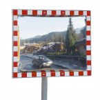 Moravia Durabel 1 Stainless Steel Convex Traffic Mirror 40x60cm