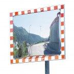Convex Stainless Traffic Mirror 80x100cm - Durabel IceFree