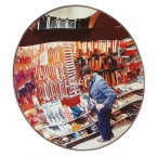Wide Angle Security Surveillance Wall Mirror  - Detective-X 50cm
