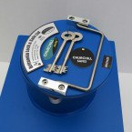 """Churchill CS001 9"""" Round Door Bronze Floor Safe £4000 - Key Lock"""