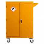 Mobile Flammable COSHH Cabinet 120x90x60 - Bedford 81F296