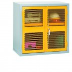 Bedford 88MD994 Steel Mesh 2 Door Cabinet 915x915x460