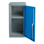 Bedford 88W944 Fully Welded 1 Door Smal; Steel Storage Cabinet - door open