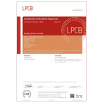 Dudley Harlech Lite S2 £4000 Rated  - LPCB  testing certificate