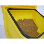 Armorgard GritKart Mobile Storage for Grit and Salt  Rubber Seal