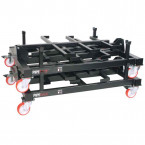 Armorgard PIPERACK PR1 Collapsible Pipe/Conduit Trolley 1000kg SWL - stacked