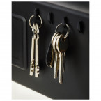 Key hooks inside the Chubbsafes Air 10E