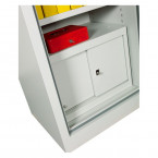 Chubbsafes Archive Fire Security Cabinet Size 325 showing optional internal lockable cupboard