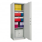 Chubbsafes Archive 450 Single Door Fire Security Cabinet - internal view