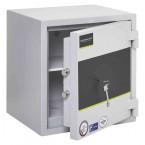 Burton Eurovault Grade 0 Safe Size 1 Key Locking showing the Door Ajar