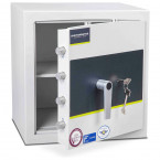 Key Locking Burton Eurovault Aver Grade 1 Safe with door ajar