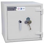 Burton Eurovault Aver 0K Eurograde 2 Key Locking Security Fire Safe - Door Closed
