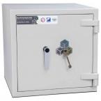 Burton Eurovault Aver 0K Eurograde 3 Key Locking Security Fire Safe - closed