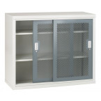 Bedford 84MD024 Steel Mesh Sliding Door Cabinet 1020x1220x460