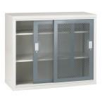 Bedford 84MD024 Steel Mesh Sliding Door Cabinet 1020x1220x460
