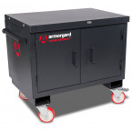 Mobile Workbench - Armorgard Mobile TuffBench - Closed Without Wooden Top