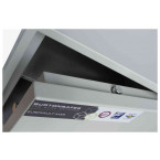Burton Aver 2K Insurance Approved Key Locking Security Safe - door bolts