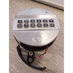 Britannia Pulse Basic Electronic Lock showing battery access
