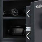 Chubbsafes Homesafe S2 20K Key Locking Showing the V shaped High Security Locking Bolts