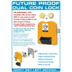 For New and Old £1 Coins - Probe Type H-£1 Coin Return Lock info
