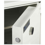 Dudley Compact 5000-1 Fire £5000 Rated Security Safe - door detail