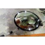 Illuminated Security Inspection Mirror 35cm Castors LED - Dancop