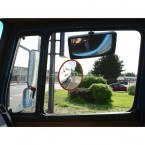 Cycle Safe Traffic Mirror 50cm - Dancop Trixi 50 - HGV viewpoint