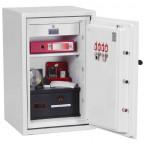Phoenix DataCombi DS2502E Digital 90min Fire Paper Data Safe - interior view