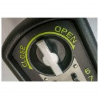 Police Approved - Keyguard Digital XL Mini Key Safe - Close up of mechanism