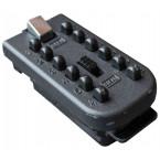 Keyguard Digital Mechanical Push Button Outdoor Key Safe - removable key pad door
