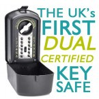 First Dual Certified Key Safe - Keyguard Digital XL