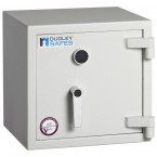 Dudley Harlech Lite Home Insurance Rated Security Safe - Door Closed