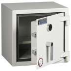 Dudley Harlech Lite Home Insurance Rated Security Safe - Door ajar