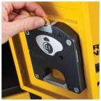 Coin Lock Mechanism for Defender Battery Bank Power Tool Charging Locker