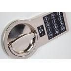 Burton Eurovault Aver 1E Police Approved Security Safe - digital lock