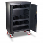 Armorgard Fittingstor FC4 Mobile Cabinet - Open
