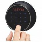 Phoenix Next LS7002FB Luxury Black 60 mins Fire Security Safe - electronic lock
