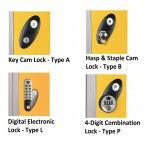 Probe Lock Options - Key Locking, Hasp & Staple, Digital Electronic and Combination Lock