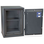 Burton Firesec 4/60 3E Electronic Security Fireproof Safe - door open