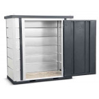 Armorgard Forma-Stor FR100-T Walk-in Security Site Store - door open