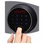 Phoenix FS1911F Fire Commander Fingerprint 2 Hour Fireproof Cabinet - Fingerprint Lock in use