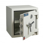 Dudley Europa Grade 1 MK3 Key Lock Fire Security Safe - £10,000 Insurance Rated - door ajar