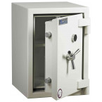 Dudley Europa £6,000 Drawer Drop Security Safe Size 3 - door ajar shown without drawer