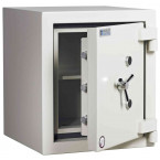 Dudley Europa £60,000 Drawer Drop Security Safe Size 1 - door ajar shown without drawer